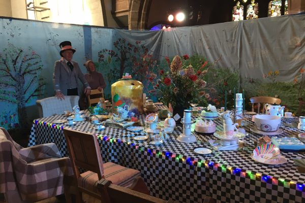 Church Mad Hatters tea Party